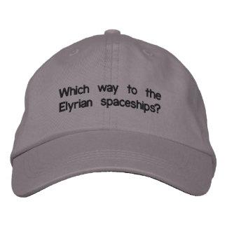Elyrian Braut-justierbarer Hut Baseballcap