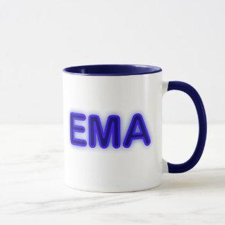 Ema-blaue NeonTasse Tasse