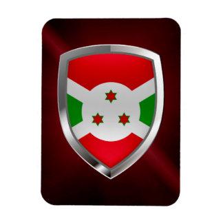 Emblem Burundis Mettalic Magnet
