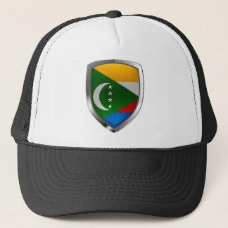 Emblem Comoren Mettalic Truckerkappe