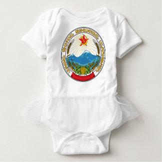 Emblem der armenischen sowjetischen baby strampler