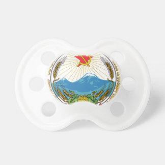 Emblem der armenischen sowjetischen schnuller