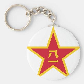 Emblem des chinesischen Winkels des Schlüsselanhänger
