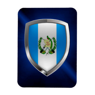 Emblem Guatemalas Mettalic Magnet