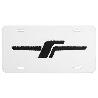 """Emblem-Kfz-Kennzeichen Subaru-Förster-""""- f"""" US Nummernschild"""