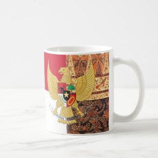 Emblem von Indonesien - Garuda Pancasila Tasse