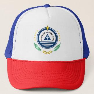 Emblem von Kap-Verde Brasão de Armas de Cabo Verde Truckerkappe
