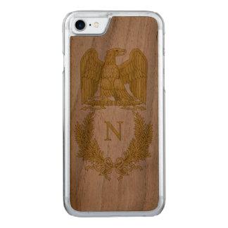 Emblem von Napoleon Bonaparte Carved iPhone 8/7 Hülle