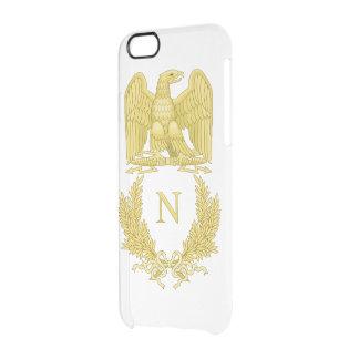 Emblem von Napoleon Bonaparte Durchsichtige iPhone 6/6S Hülle