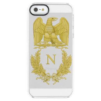 Emblem von Napoleon Bonaparte Durchsichtige iPhone SE/5/5s Hülle