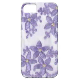 Embroided diamante de imitación-Blumen iPhone4 iPhone 5 Hülle