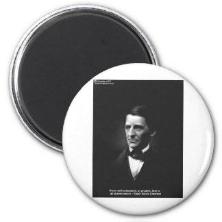 Emerson-Liebe-nie besessene Zitat-Geschenke usw. Runder Magnet 5,1 Cm
