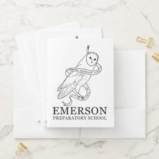 Emerson-Taschen-Ordner (Eule) Mappe