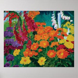 Emil Nolde - Garten der Blumen-feinen Kunst Poster