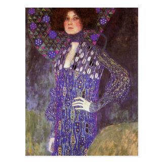 Emilie Floege vorbei Gustav Klimt Postkarten
