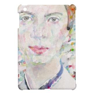 Emily Dickinson - Aquarellporträt iPad Mini Hülle