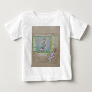 Emily und Willy Baby T-shirt