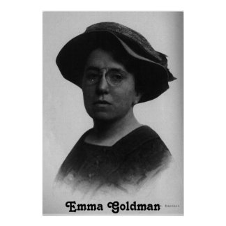 Emma Goldman-Plakat Poster