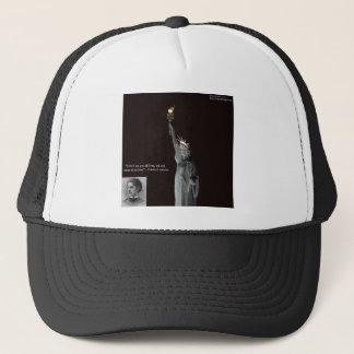 Emma Lazarus u. Freiheitsstatue Geschenke u. Truckerkappe