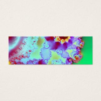 Emmas Garten III · Fraktal-Kunst · Goa Mini Visitenkarte