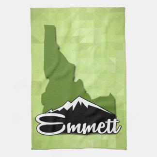 Emmett Idaho Idahoan Gem County Hometown Geschirrtuch