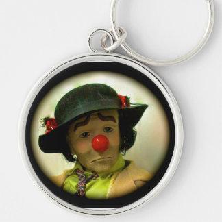 Emmett Kelly - müder Willie-Clown Keychain Schlüsselanhänger