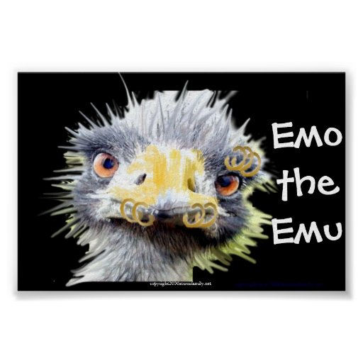 Emo das Emo Plakat
