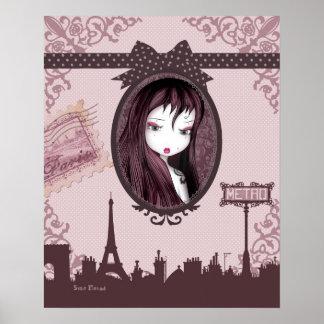 Emo Klatschmohn from Paris postieren Poster