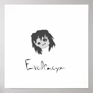 Emo Mädchen-Plakat