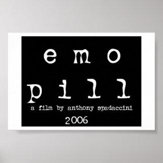"""""""emo Pillen"""" Plakat (Logo)"""