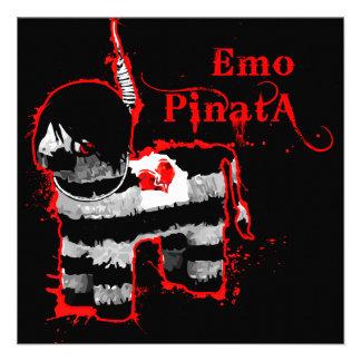 emo Pinata Individuelle Ankündigungskarte