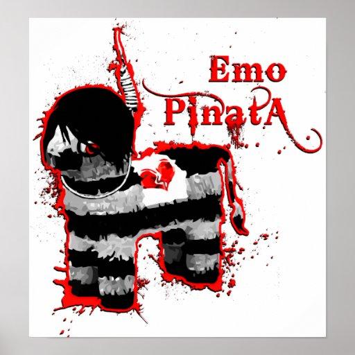 emo Pinata Plakatdrucke