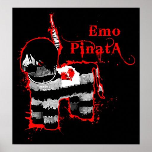 emo Pinata Plakate