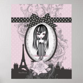Emo Romantik Gotik from Paris postieren Poster