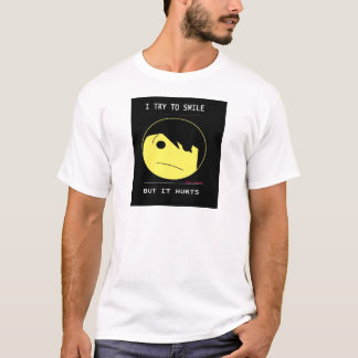 """EMO SMILEY (Emotioncons!!) """"verletzt, um zu T-Shirt"""