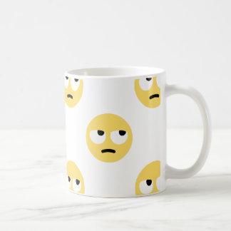 emoji Augenrollen Kaffeetasse