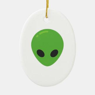 emoji Außerirdische Keramik Ornament