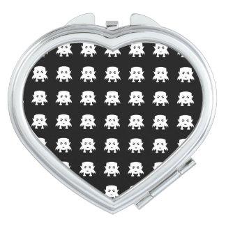 Emoji Baby-Vampirs-Muster Schminkspiegel