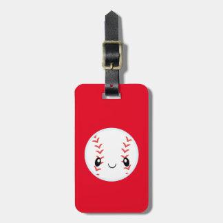 Emoji Baseball Gepäckanhänger