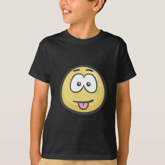 Emoji: Gesicht, das köstliche Nahrung Savouring T-Shirt