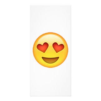 Emoji - Herz-Förmige Augen Werbekarte