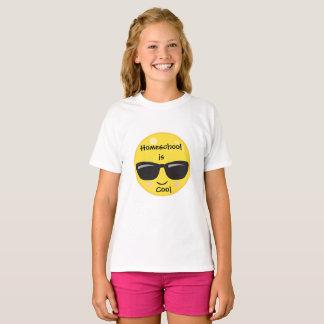 Emoji Homeschool ist cool T-Shirt