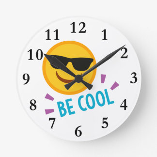 Emoji wanduhren designs - Coole wanduhren ...