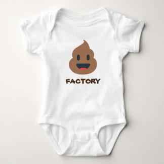 Emoji, kacken Fabrik Baby Strampler