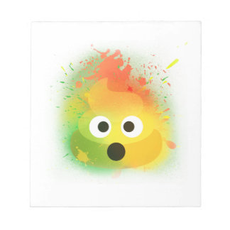 emoji kacken niedlichen Entwurf des Notizblock