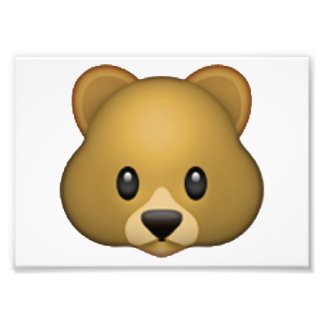 Emoji - Kreis-Finger Fotodruck