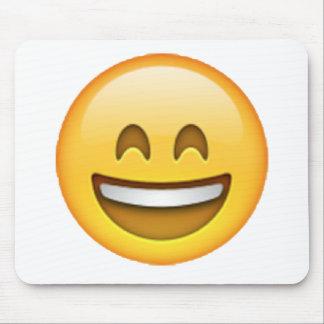 Emoji - Lächeln-geschlossene Augen Mousepad
