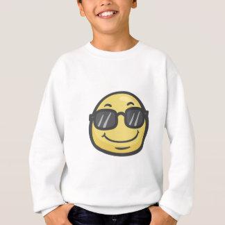 Emoji: Lächelndes Gesicht mit Sonnenbrille Sweatshirt