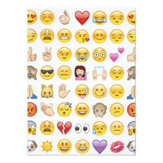 emoji Party Einladung