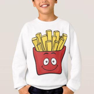 Emoji Pommes-Frites Sweatshirt